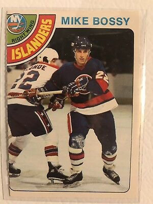 1978-1979 78-79 OPC O-Pee-Chee Mike Bossy Rookie RC #115