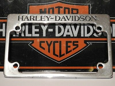 Harley-Davidson Motorcycle License Plate Frame