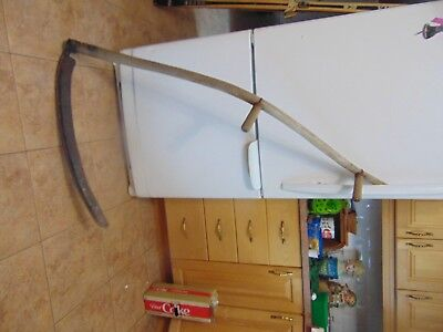 vintage/antique  mowing scythe    nice #  5916