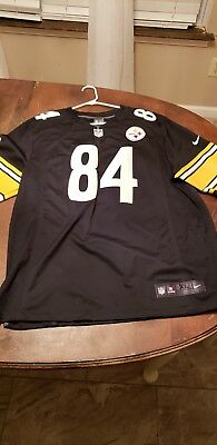 new arrival 21851 bf8de NIKE PITTSBURGH STEELERS Antonio Brown Jersey On Field Sewn Jersey size  MENS XL