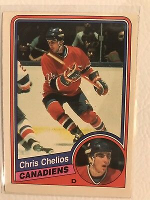 1984-1985 84-85 OPC O-Pee-Chee Chris Chelios Rookie RC #259