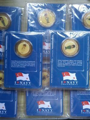 Singapore Navy Medallion Full Set Collectible Limited Edition