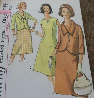 Vintage Lot 1960s Sewing Patterns Coats Dress Ladies Jackie O Suits
