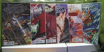 AMAZING SPIDERMAN 2015 Marvel Comics #1-32 Alex Ross Covers