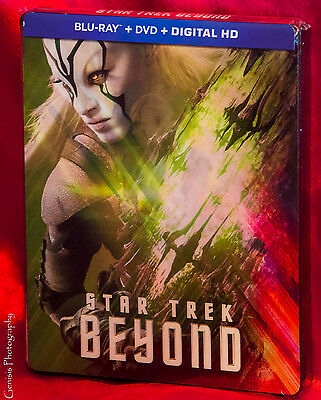 Star Trek Beyond Exclusivo Lenticular Edición Limitada Bluray Caja Metálica