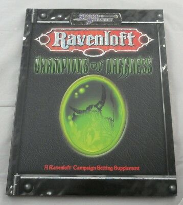 Dungeons & Dragons d20 v3.5 Ravenloft Champions of Darkness WW15003 D&D