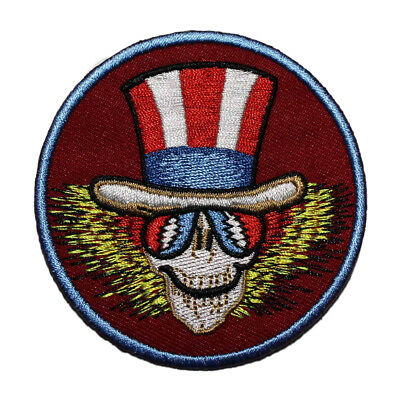 Grateful Dead Uncle Sam Embroidered Iron On Patch - Music Band Album Art 152-S