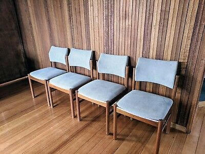 4x Parker Furniture vintage/ mid-century dining chairs