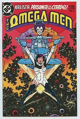 The Omega Men #3 First Appearance Of Lobo Nice Copy!