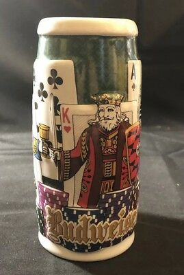 2006 AB Collection Poker Stein Beer Stein In Box CS676 (E41BD)