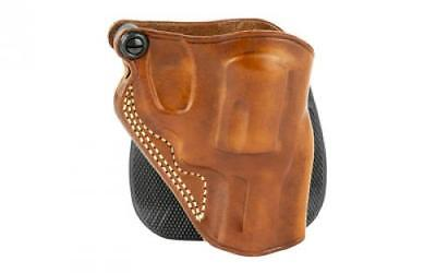 GALCO SPEED PADDLE Holster, Fits J Frame, Right Hand, Tan Leather SPD158