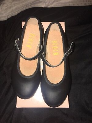 Girls Bloch Black Tap Shoes Size 10.5 Toddler