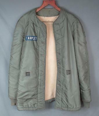 Vintage 1950s US Army Air Forces Parka Liner M-1951 Fishtail Field/Flight Jacket