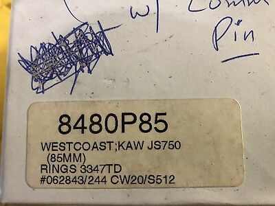 Westcoast Performance 750 Racing Cylinder 85mm Piston Kit! NOS!!