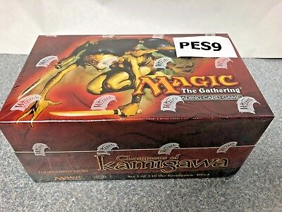 MTG - Factory sealed English Champions of Kamigawa Tournament Pack Display