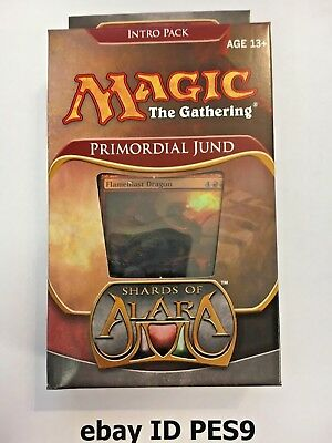 MTG - Factory sealed English Shards of Alara Intro Pack - PRIMORDIAL JUND