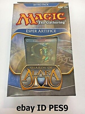 MTG - Factory sealed English Shards of Alara Intro Pack - ESPER ARTIFICE