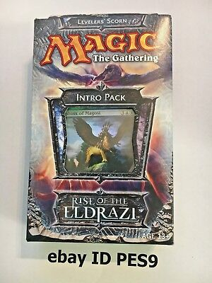 MTG - Factory sealed English Rise of the Eldtazi Intro Pack - Levelers Scorn
