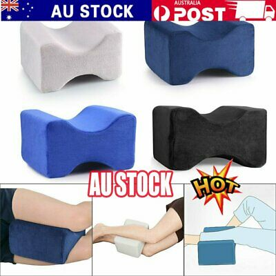 2019 Memory Foam Leg Pillow Cushion Knee Support Pain Relief Washable Cover QO