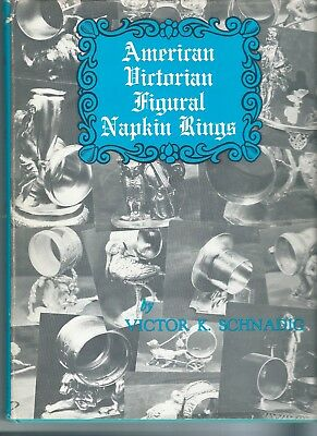 Antique Figural Napkin Ring VICTORIAN HB BOOK LOTS ILLUSTRATIONS LOT COLLECTION