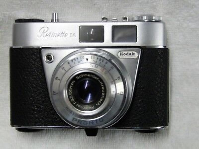 Kodak Retinette 1A 35mm film camera good cosmetic and working condition