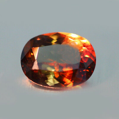3.27cts UNIQUE 100% NATURAL' DANCING COLOR CHANGE AXINITE RARE GEM AAA !!!!