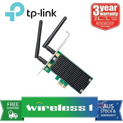 Brand New TP-Link  Archer T4E AC1200 Wireless Dual Band PCI Express Adapter