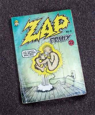 Zap Comix No. 0- the comic that Plugs You In! 1st Edition~!