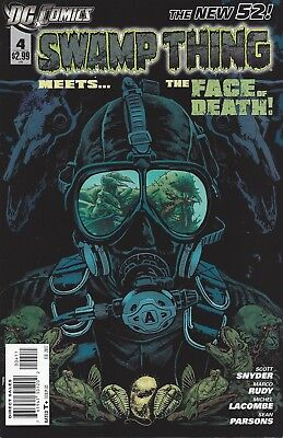Swamp Thing #4. Feb 2012. DC. The New 52. VF.