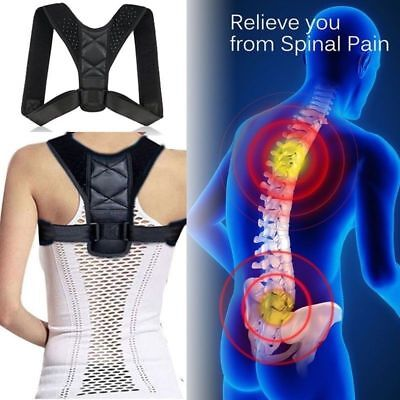 BodyWellness Posture Corrector (Adjustable Sizes) USPS FIRST CLASS FREE SHIPPING