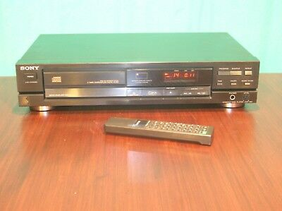 Sony CDP-390, CD player with remote control