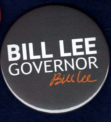 Bill Lee Gop Governor 2018 Official East Tennessee  Political Pinback Button