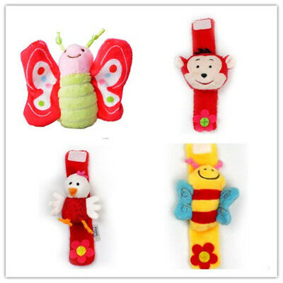 Rattle Set Baby Foot Wrist Rattles Socks Kids Girls Toys Foot-finder Bracelets