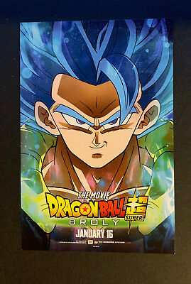 Dragon Ball Z Super: Broly Limited Edition MINI Poster Movie