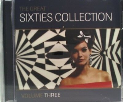 The Great 60s Collection vol three  cd 18 track like new