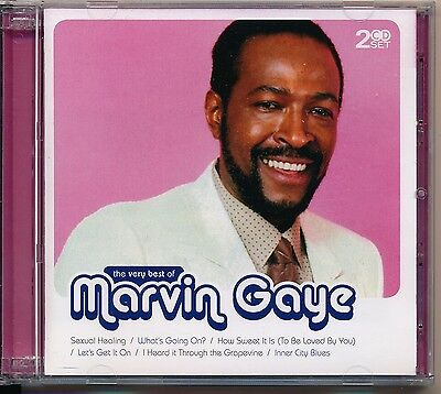 The Very Best Of Marvin Gaye - Marvin Gaye 2cd