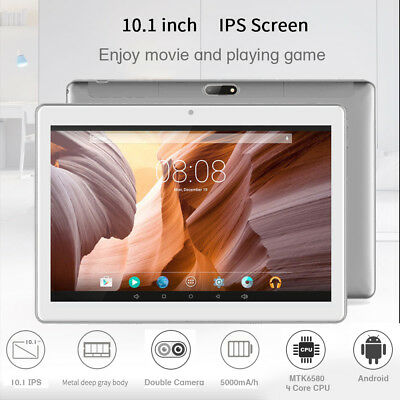 "10.1'' Tablet PC Android 6.0 16GB Octa Core 10"" Inch HD WIFI 3G 2 SIM Phablet"