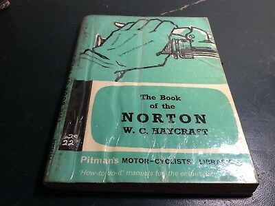 Motor-Cyclists Library The Book Of The Norton.w.c. Haycraft-1955 And Later.