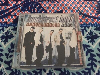 "BACKSTREET BOYS - ""Backstreet's Back""  [CD]"