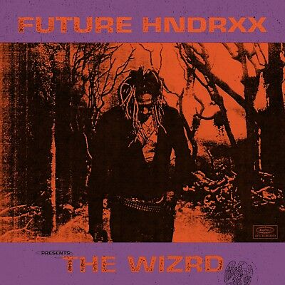 "Future Hndrxx Presents: The WIZRD Cover Poster HQ Art Print 20×20"" 24×24"" 32×32"""