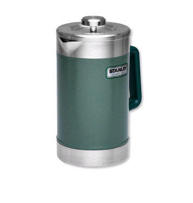 Camping French Press Large 48oz Vacuum Insulated Travel Portable Stainless Steel