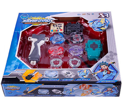 4Pcs Toupie Beyblade Burst Jouet Lanceur Grip Collection Tournoi Ultime Complet