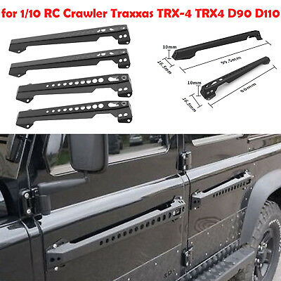 4PCS Metal Door Handle Spare Parts for 1/10 Traxxas TRX-4 TRX4 D90 D110 RC Car