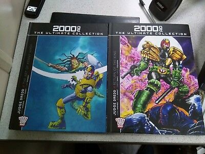 2000AD Ultimate Collection Judge Dredd