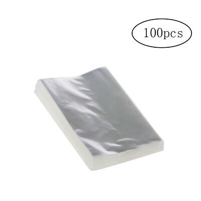 100pcs OPP Clear Bags Multi Usage Cellophane Bags for Bakery Candy Soap Cookies