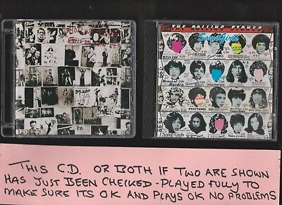 Rolling Stones Exile On Main Street + Some Girls TWO CD Albums