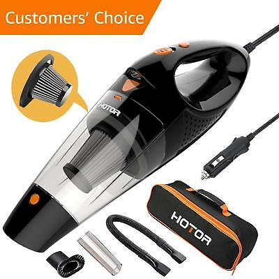 Car Vacuum HOTOR Corded Car Vacuum Cleaner High Power for Quick Car Cleaning