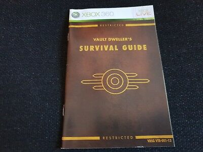 Fallout 3, Xbox 360 Game Manual, Trusted Ebay Shop