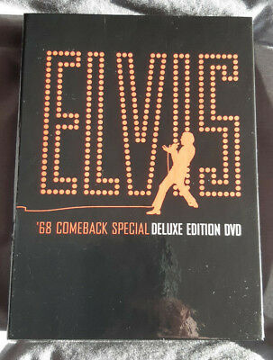 Elvis Presley - '68 Comeback Special 3x Disc Deluxe Edition DVD 2004 Remastered