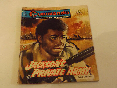 Commando War Comic Number 586 !,1971 Issue,good For Age,48 Years Old,very Rare